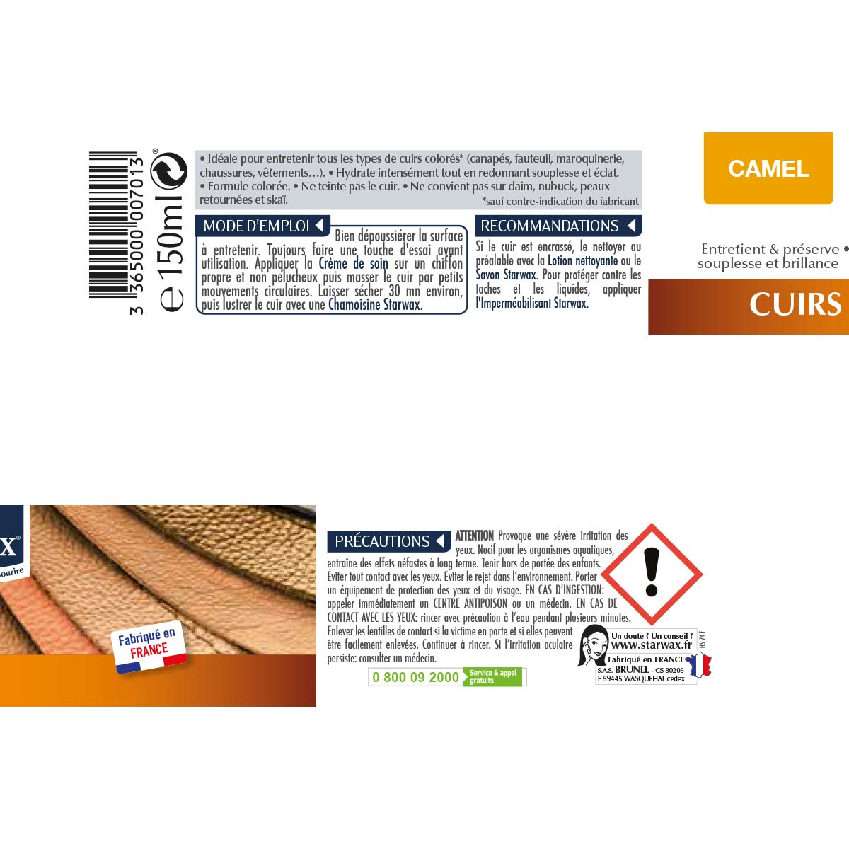 Entretien Du Cuir D Ameublement crème de soin pour cuirs colorés | starwax, produits d