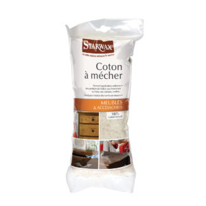 coton à mecher pour meubles en bois starwax