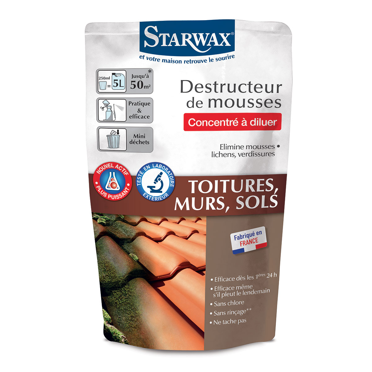 Destructeur mousse concentre à diluer - 250ml