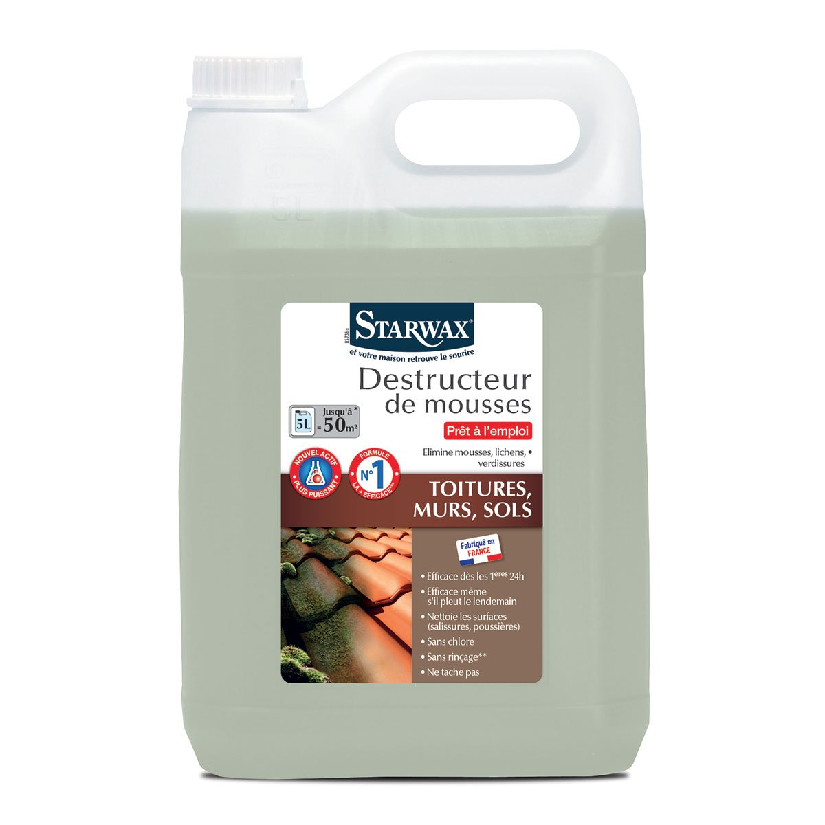 Destructeur mousse starwax 5L