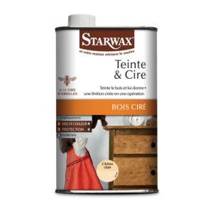 Teinte et cire pour bois ciré - Starwax