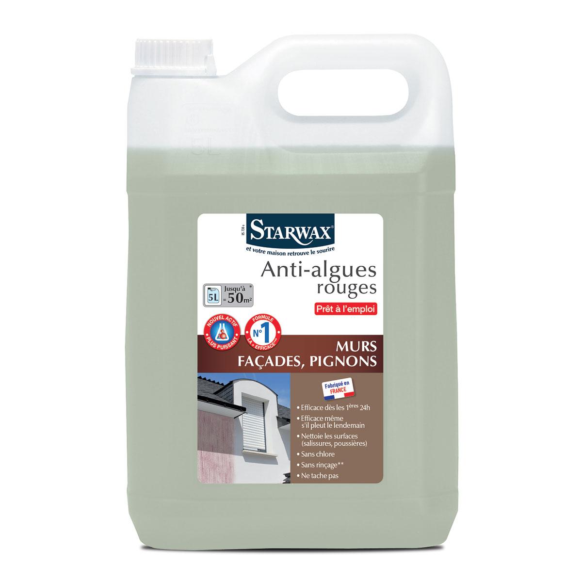 Traitement anti algues-rouges