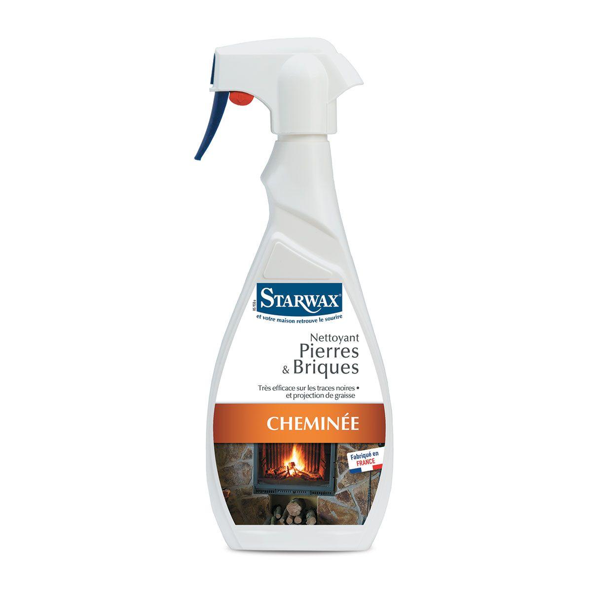 Nettoyant pour pierres et briques de cheminée et barbecue - Starwax