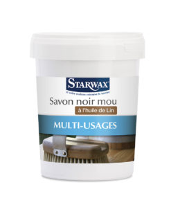 Savon noir mou huile de lin Starwax
