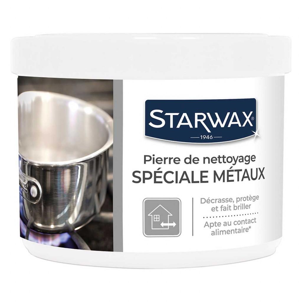 Pierre de nettoyage métaux Starwax