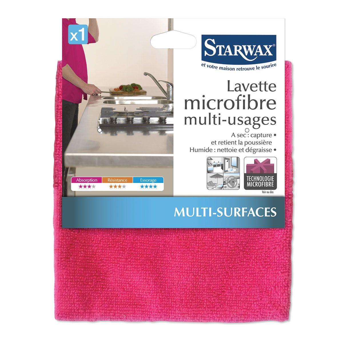 Lavette microfibre multi-usages – Starwax