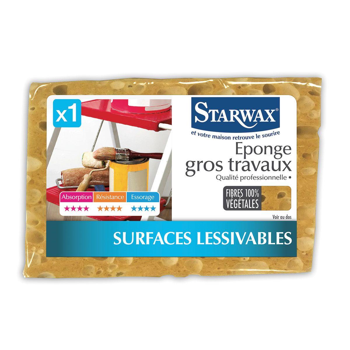 Eponge gros travaux - Starwax