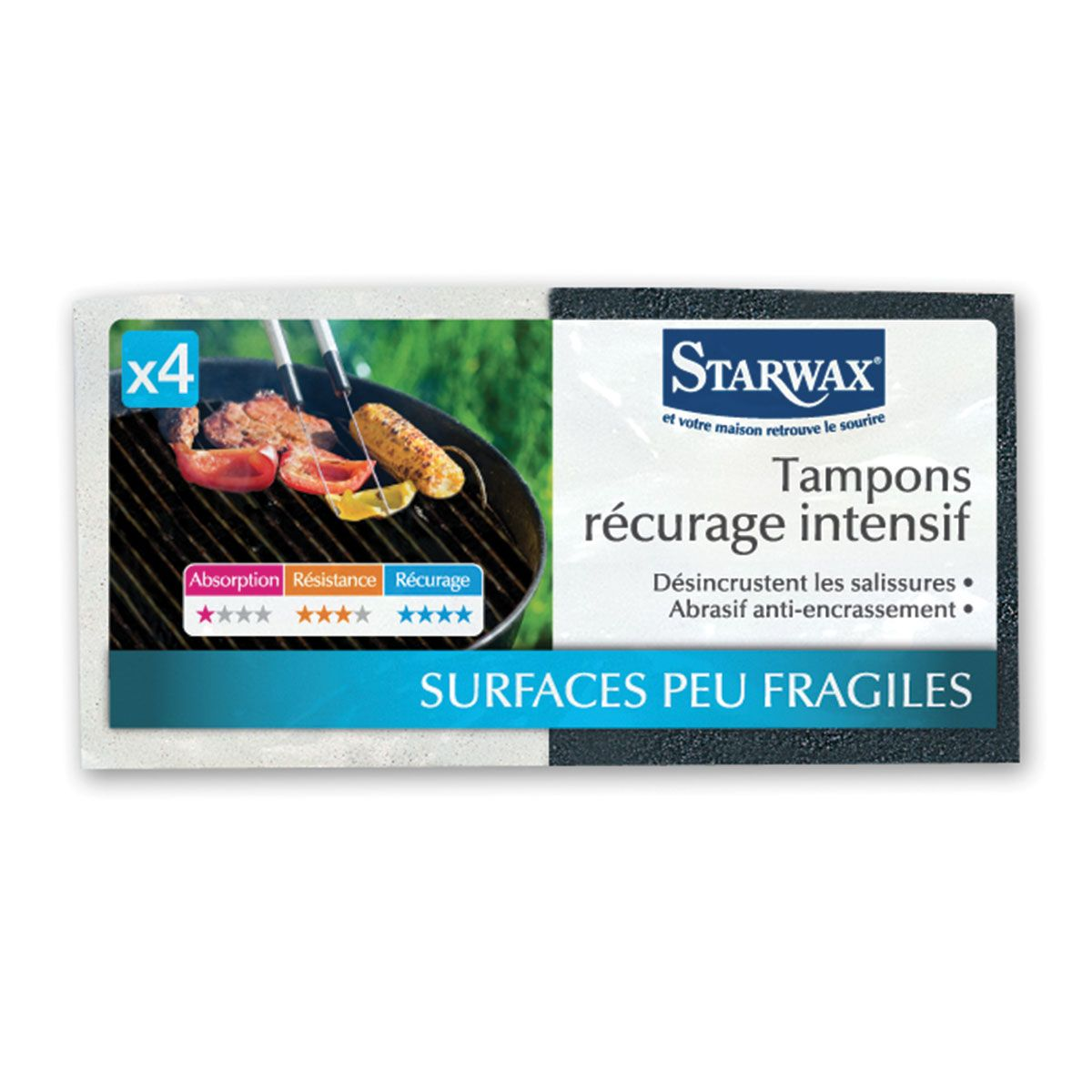 Tampons récurage intensif - Starwax