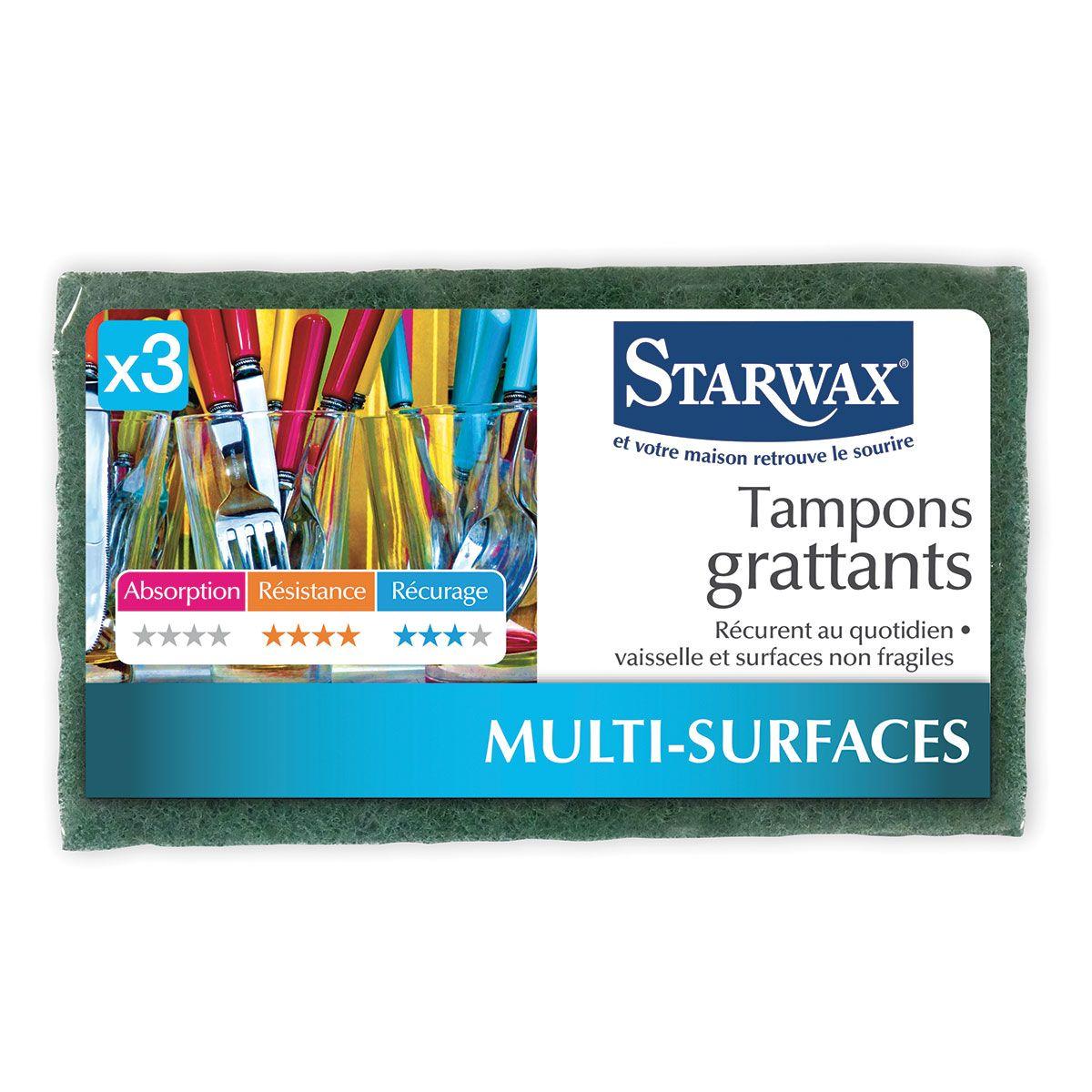 Tampons grattants - Starwax