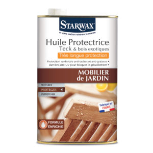 Huile pour mobilier jardin - Starwax