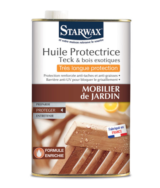 Huile pour mobilier jardin – Starwax