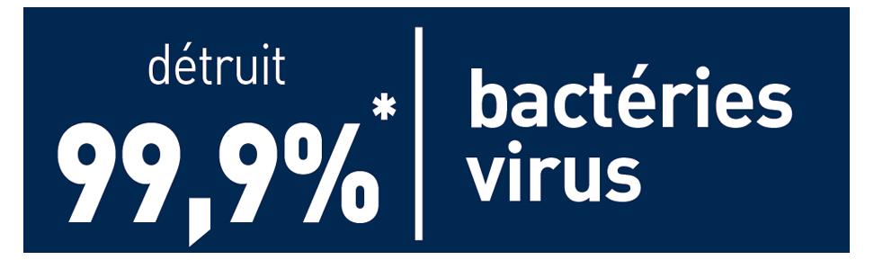 Picto désinfectant - bactéries - virus
