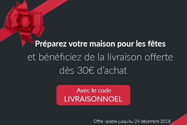 Bénéficiez des frais de port offert dès 30€ d'achat