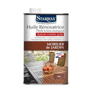 Mobilier de jardin : comment nettoyer le teck ? | Starwax