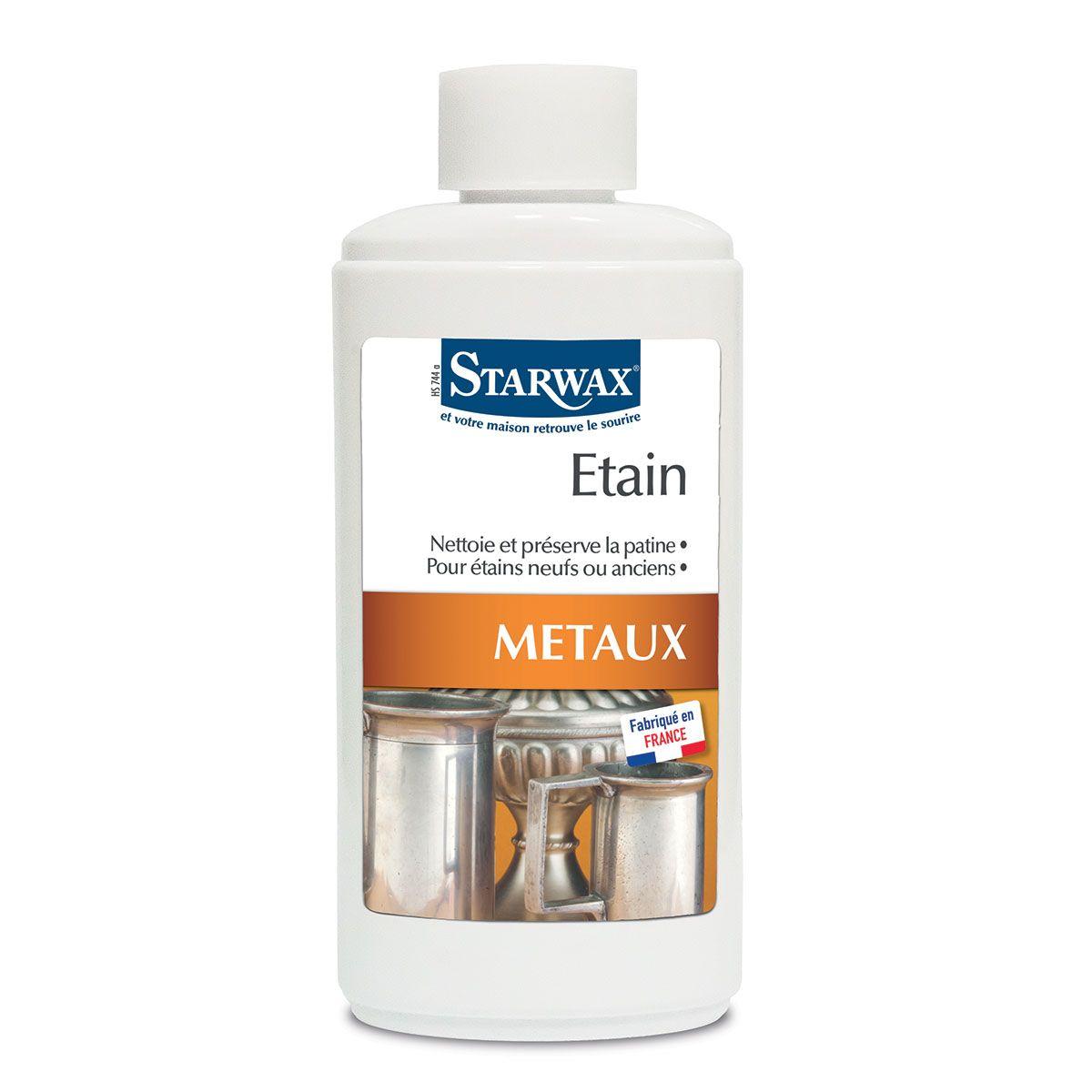 nettoyant etain métaux starwax