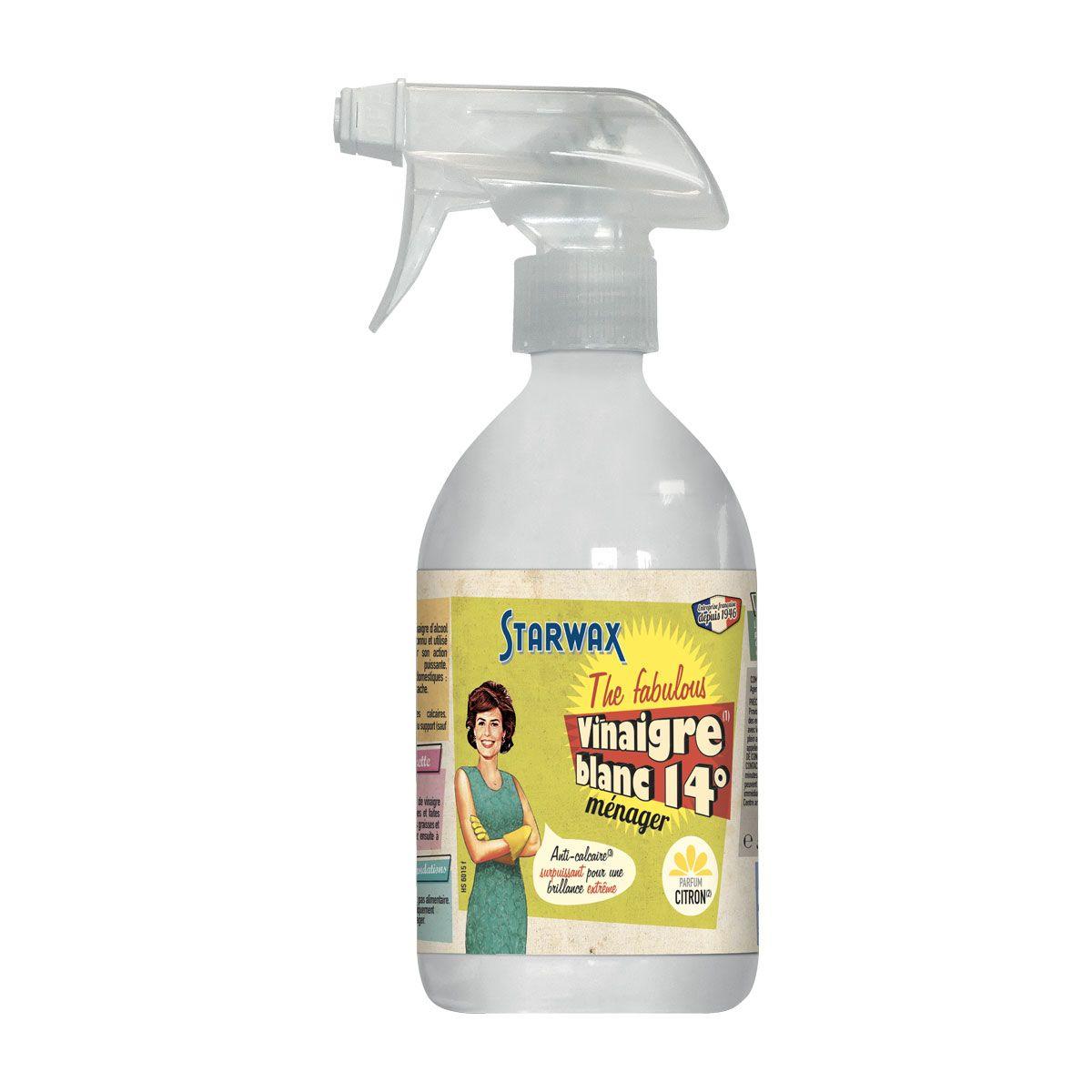 Nettoyer Lave Vaisselle Vinaigre vinaigre blanc - parfum citron | starwax, produits d