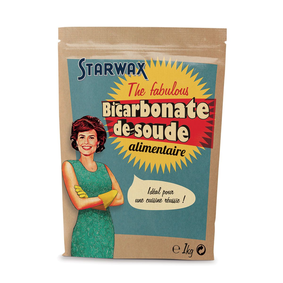 Bicarbonate de soude alimentaire - Starwax The Fabulous