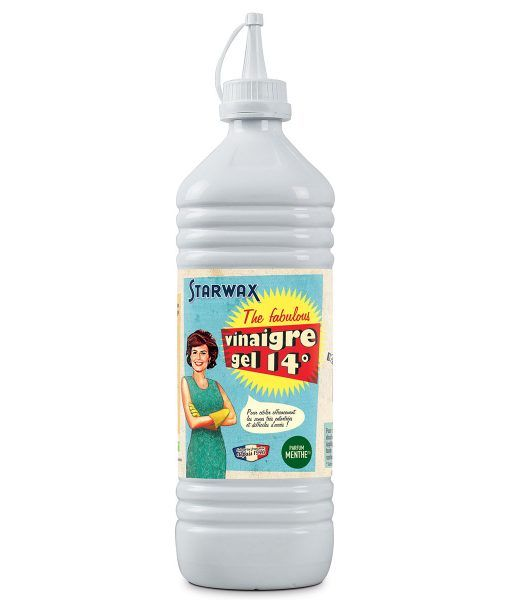 vinaigre blanc en gel parfum menthe starwax produits d entretien maison