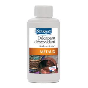 Decapant desoxydant metaux starwax