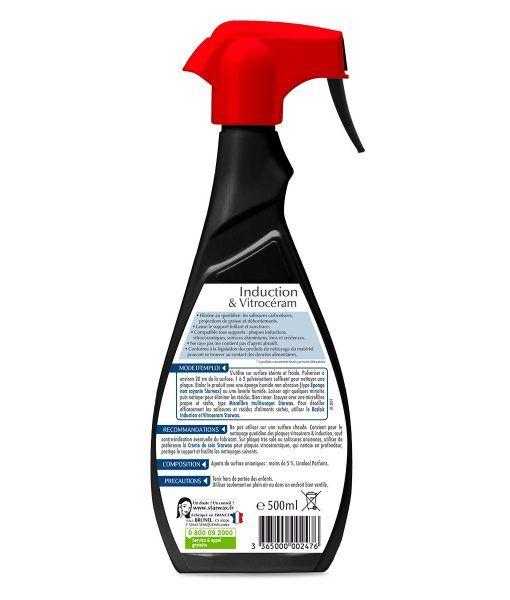 Nettoyant quotidien pour vitroceram et induction - Starwax