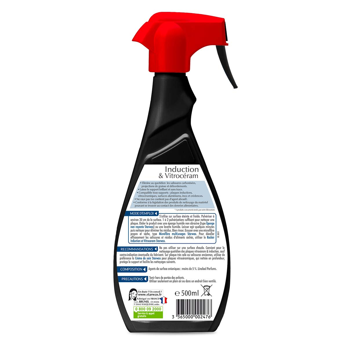 Produit Pour Nettoyer Vitroceramique nettoyant quotidien pour vitroceramique & induction