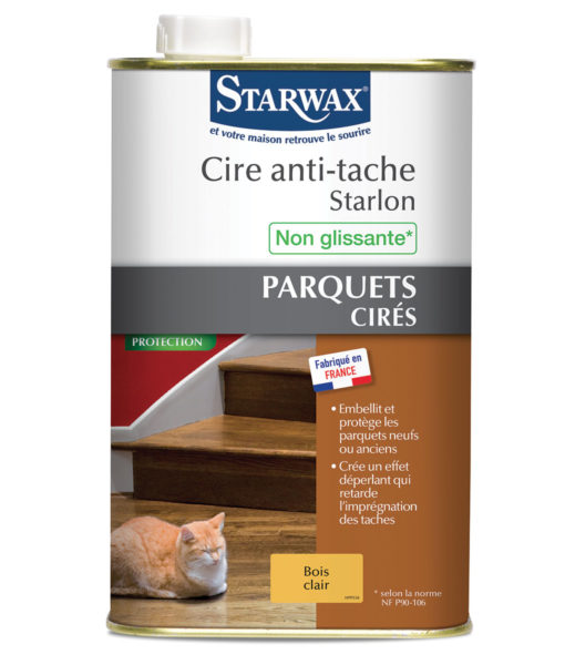 Cire anti tache starlon starwax