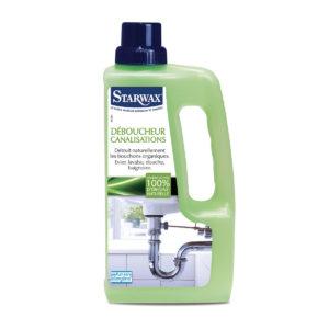 Déboucheur pour canalisations avec matières actives 100% d'origine naturelle - Starwax