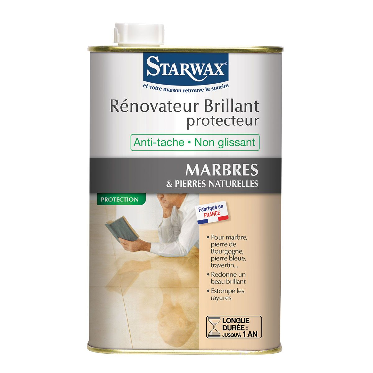 brillant haute protection marbre pierres naturelles starwax
