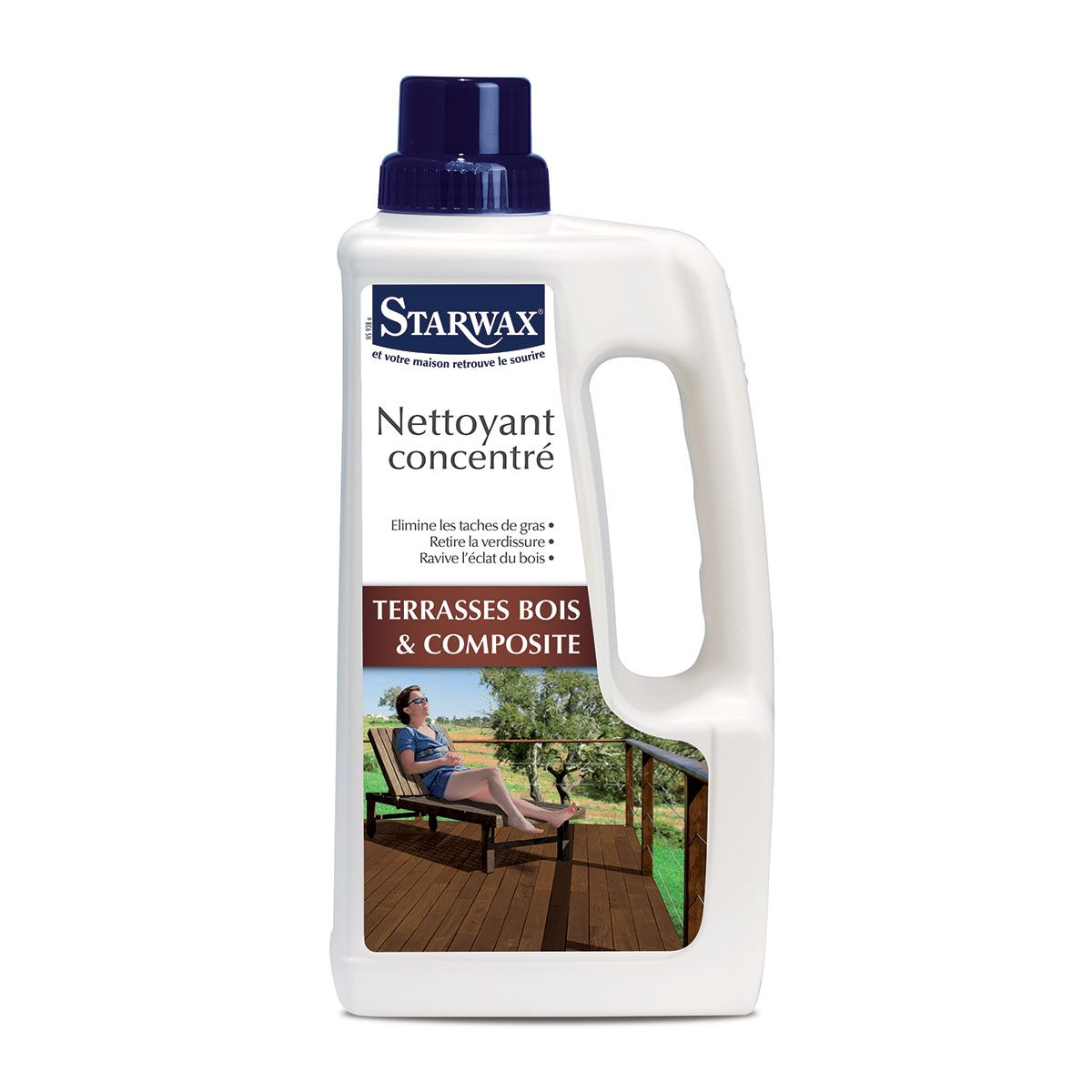 nettoyant concentré pour terrasse en bois et composite | starwax ... - Comment Nettoyer Une Terrasse En Composite