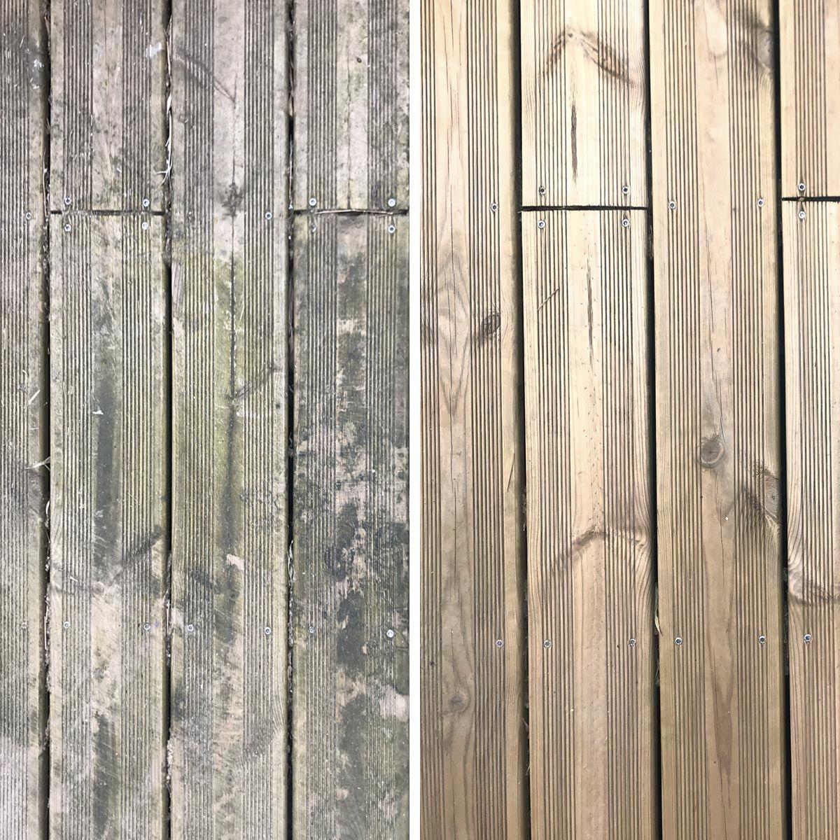 Bois Pour Terrasse Extérieure nettoyant concentré pour terrasse en bois et composite