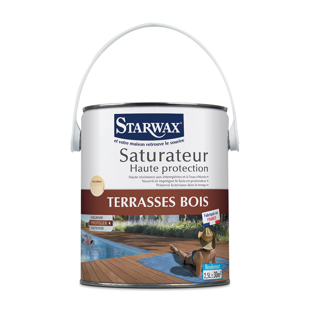 Saturateur haute protection - Starwax