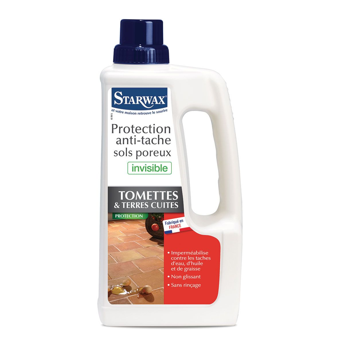 protection anti-taches tomettes terres cuites starwax