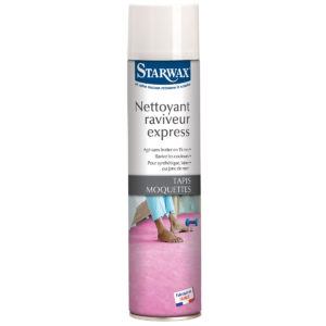 Nettoyant raviveur express tapis moquettes starwax