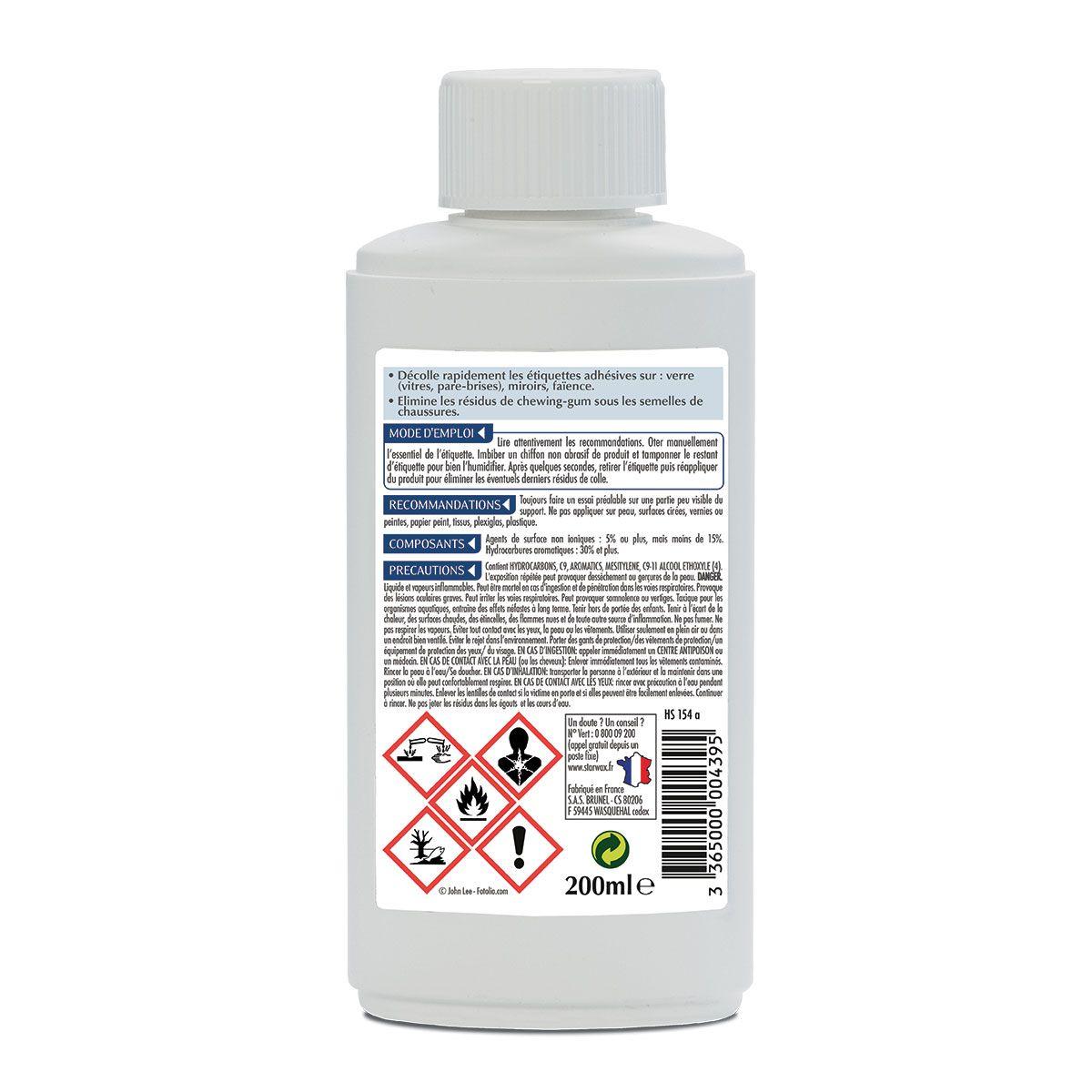 Décolle adhesifs - Starwax
