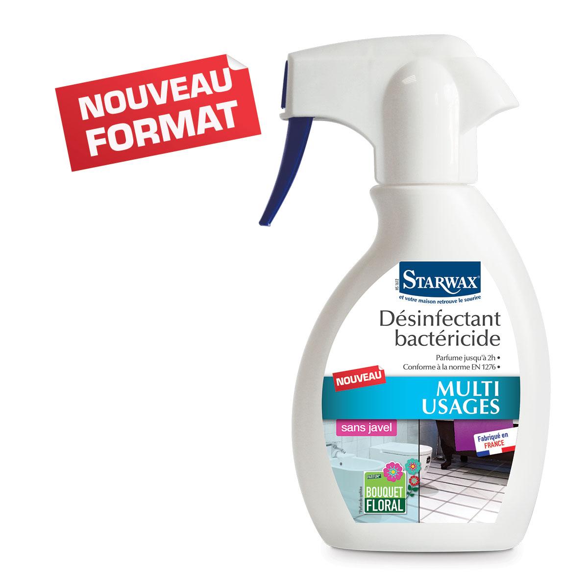 Désinfectant bactericide -250ml- Starwax