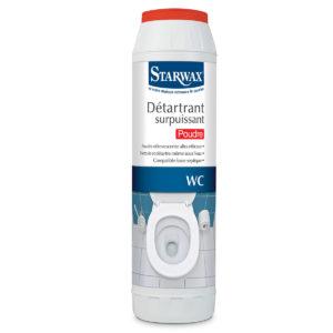 Détartrant surpuissant en poudre pour WC - Starwax