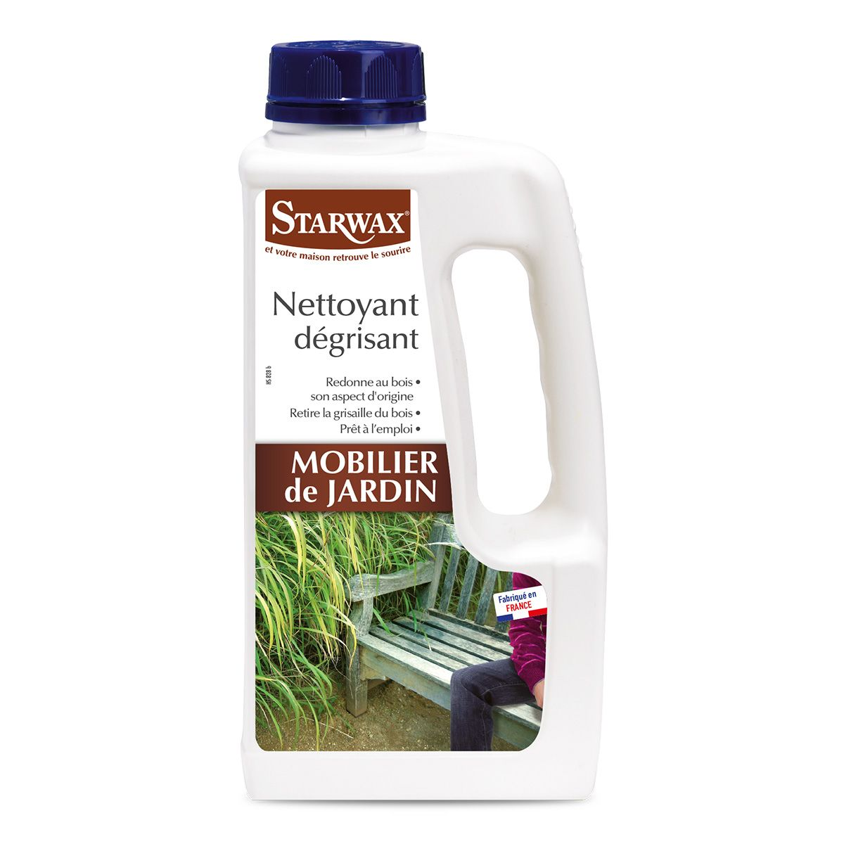 Nettoyant dégrisant pour teck et bois exotiques - Starwax