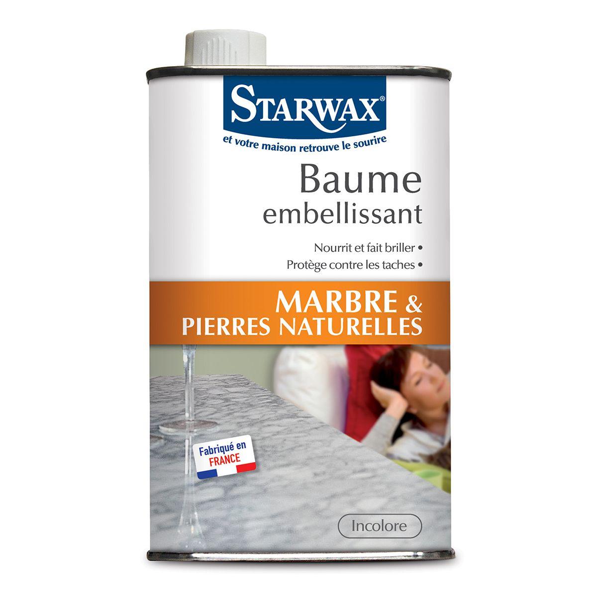 baume embellissant marbre pierres naturelles starwax