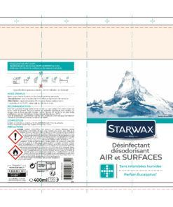 Nettoyant air et surfaces Starwax