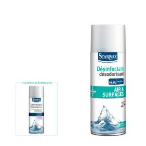 Désinfectant désodorisant air&surfaces