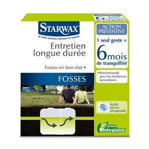 Entretien longue durée pour fosses septiques - Starwax