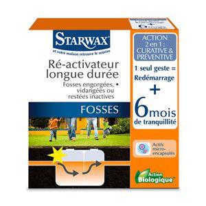 Ré-activateur longue durée pour fosses septiques - Starwax