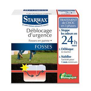 Déblocage d'urgence pour fosses septiques - Starwax