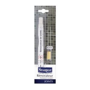 Feutre blanc rénovateur pour joints - Starwax