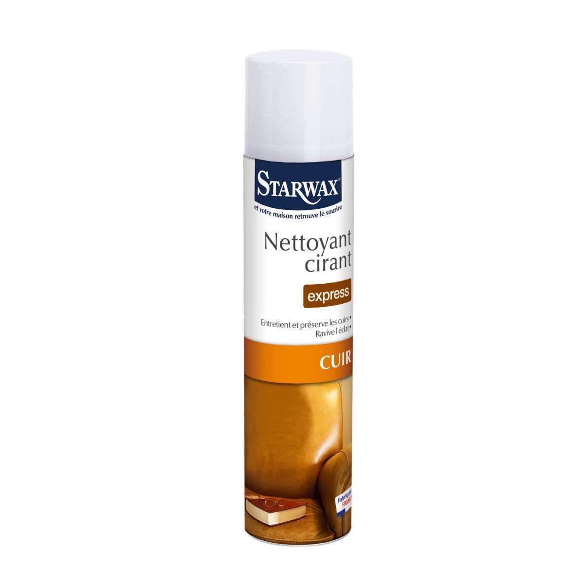 Entretien Du Cuir D Ameublement nettoyant cirant express tous cuirs | starwax, produits d