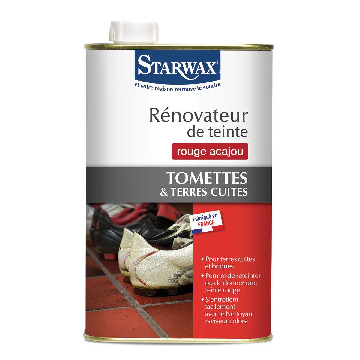 Rénovateur teinte tomettes terres cuites starwax