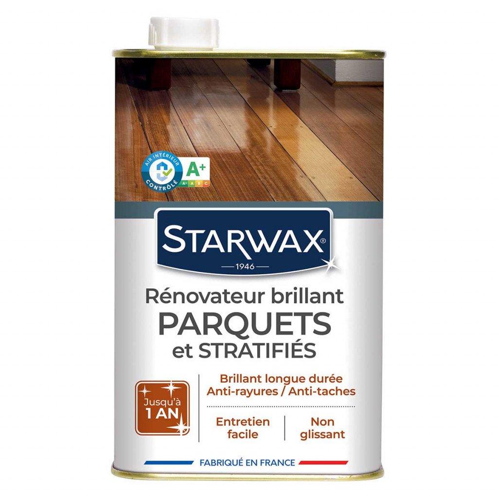 Rénovateur brillant parquets et stratifiés Starwax