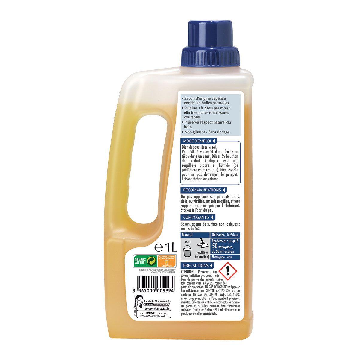 savon entretien parquet huile starwax
