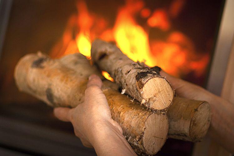 Feu de chemin e comment obtenir de belles flammes - Comment allumer une cheminee ...