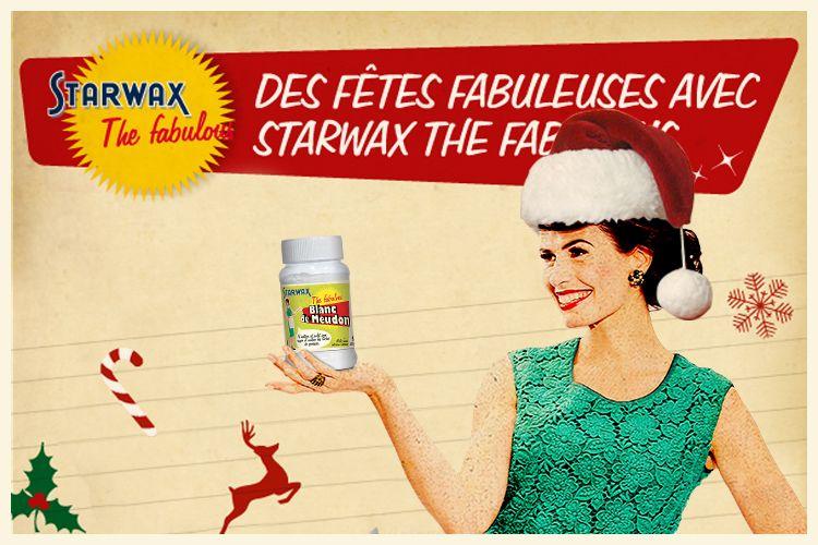 Infographie Préparez les fêtes de noël avec Starwax The Fabulous